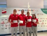 Młodzi sportowcy naszego regionu złożyli przysięgę olimpijską. Lecą do Argentyny!
