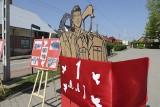 1 Maja w Krynkach. Wystawa pokazująca dawne obchody 1-majowe. Tam czas się zatrzymał [ZDJĘCIA, WIDEO]