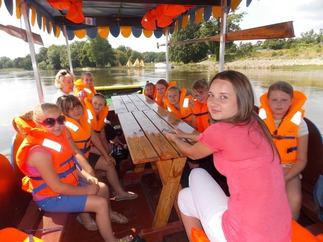We wtorek dzieci, pod opieką pani Justyny, były zachwycone wycieczką.