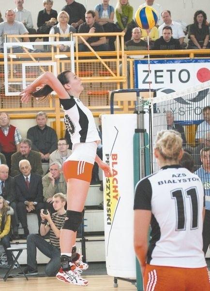 Dominika Koczorowska (na zdjęciu) została wybrana przez kibiców do udziału w meczu gwiazd Plus Ligi Kobiet.