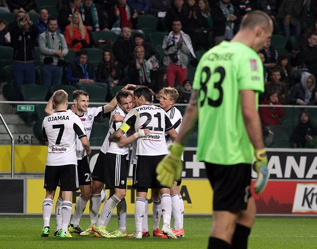 Legia Warszawa zwyciężyła w rundzie zasadniczej Ekstraklasy