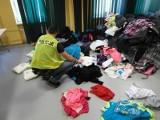 Podrobiona odzież za 130 tys. zł na bazarze w Gubinie. W większości były to ubrania znanych na świecie marek