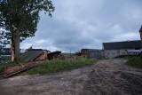 Powiat kościerski: Wielu mieszkańców nadal nie ma prądu [ZDJĘCIA]