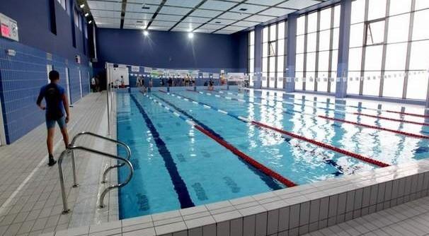 Basen w Centrum Kształcenia Sportowego w Szczecinie.