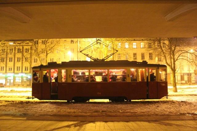 Walentynkowy tramwaj MPK Łódź