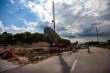 Kraków. Kolejne utrudnienia związane z rozbudową al. 29 Listopada. Zwężona została jezdnia w rejonie ul. Węgrzeckiej