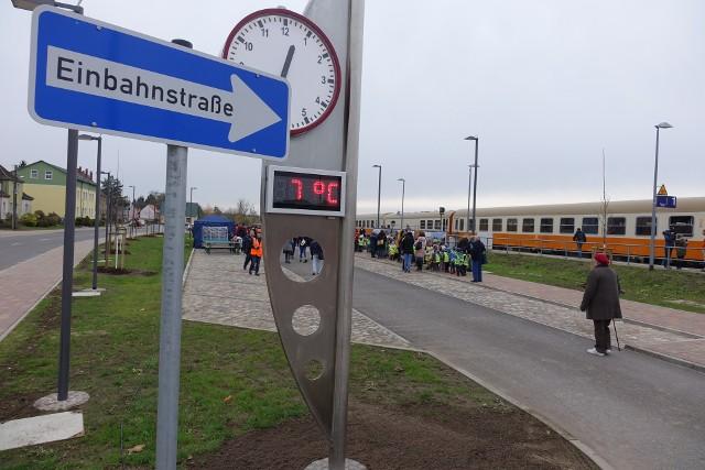 Stacja w Tantow. Prace na odcinku z Passow do granicy z Polską maja ruszyć w 2024 roku