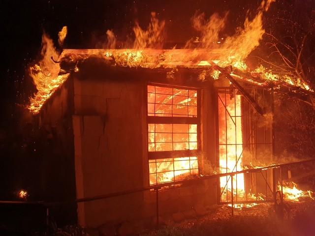 Pożar w Czaplinku