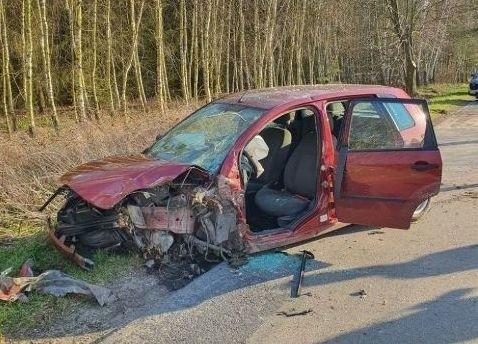 Do tragicznego wypadku doszło na terenie gminy Rusinów.
