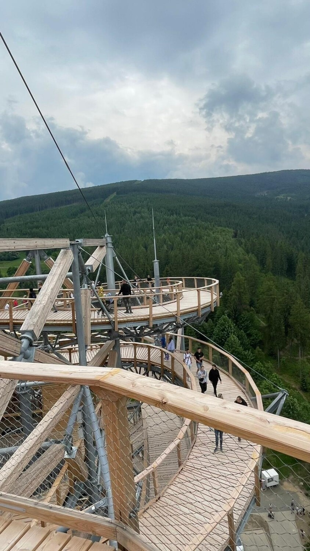 Sky Walk w Świeradowie-Zdroju