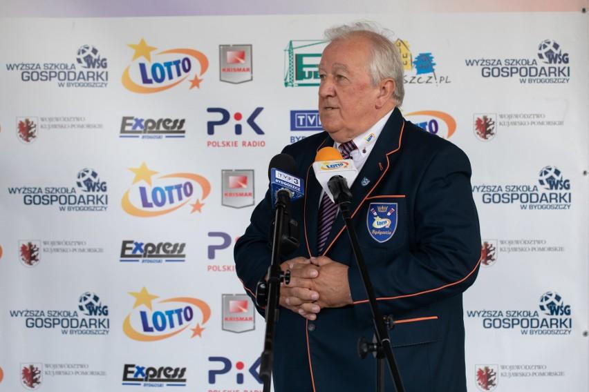 Prezes Zygfryd Żurawski liczy na sukcesy w 2021 roku