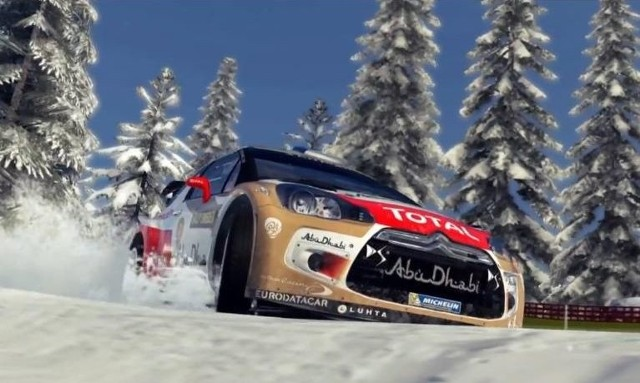 WRC 4WRC 4 i Sebastien Loeb na trasie Rajdu Szwecji