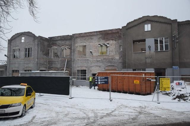 Trwa remont dworca kolejowego w Wodzisławiu Śl.