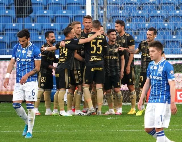 Lech Poznań - Legia Warszawa 0:1