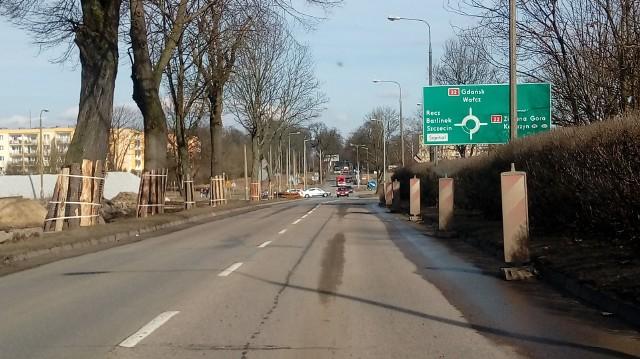 Rondo Gdańskie jest częścią drogi krajowej nr 22.
