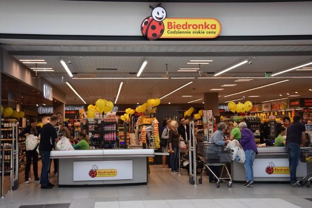 """""""Piotr i Paweł"""" w Gemini Parku jest jedynym sklepem tej marki w województwie śląskim, który przejęła sieć Biedronka."""