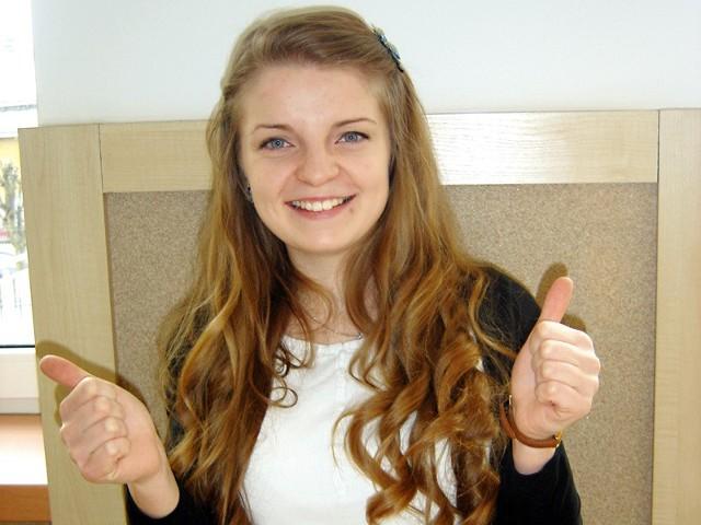Wolontariat jest super. Warto pomagać - mówi Mariola Łupińska, uczennica I LO w Łapach. Wygrała konkurs Ośmiu Wspaniałych.