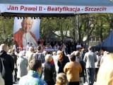 Beatyfikacja Jana Pawła II: Przeżywamy to w Szczecinie [film]