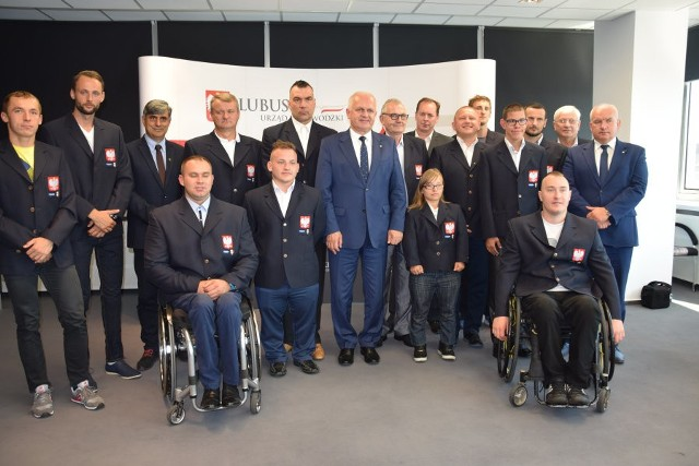 Reprezentanci Startu Gorzów spotkali się z przedstawicielami Urzędu Wojewódzkiego.