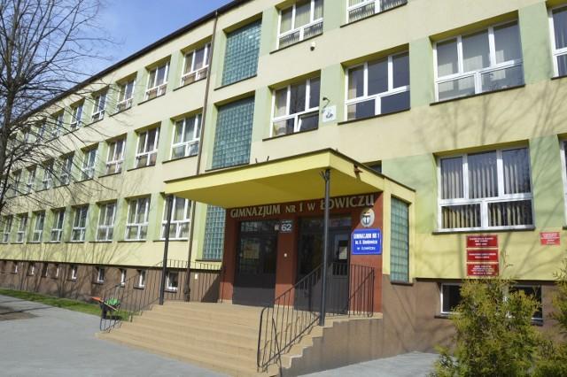 Gmach Gimnazjum nr 1 w Łowiczu
