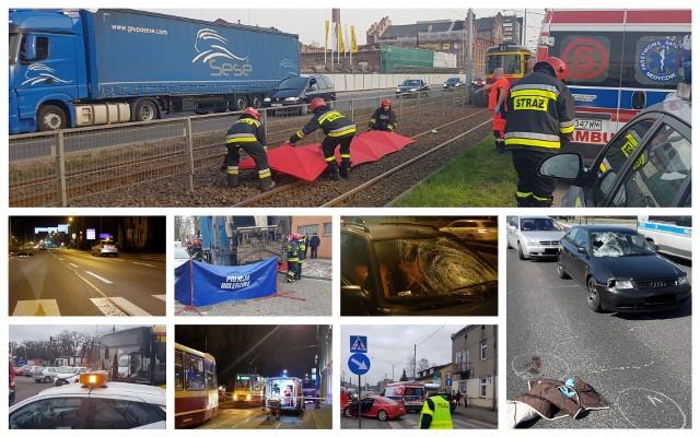 Na kolejnych zdjęciach zobaczysz zestawienie tegorocznych  śmiertelnych potrąceń w Łodzi.