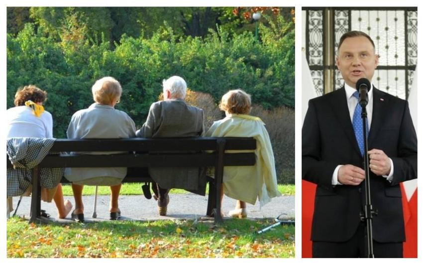 Przed wyborami między innymi prezydent Andrzej Duda obiecał...