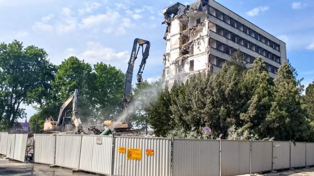 Niedługo budynek zniknie z krajobrazu miasta.