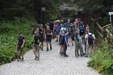 Tatry: Szlakiem do Morskiego Oka zeszła lawina... turystów
