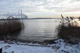 Zalew Rybnicki w zimie urzeka widokami. Zima nad Morzem Rybnickim
