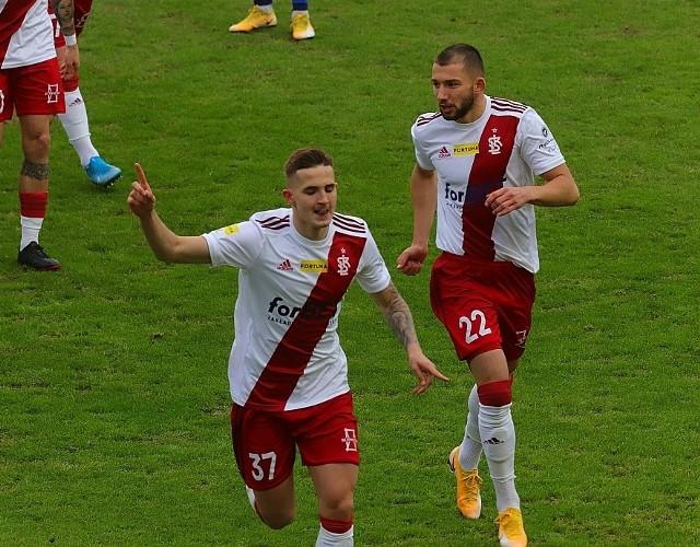 Wreszcie! ŁKS pokonał Odrę i goni w tabeli lidera I ligi Bruk-Bet Termalikę Nieciecza