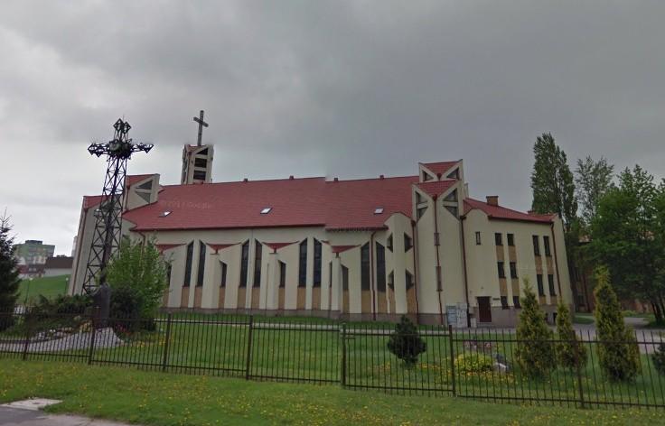 Incydent miał miejsce w parafii p.w. świętego Alberta...