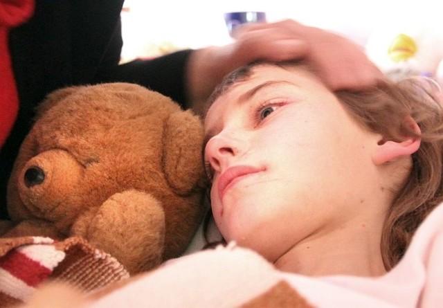 odnalazła się w poniedziałek, Przez tydzień leżała w szpitalu w Suwałkach
