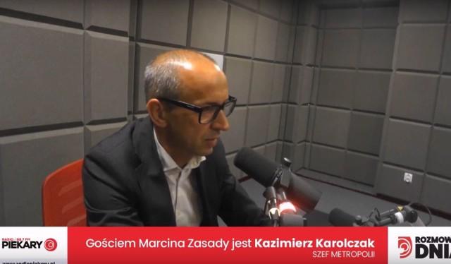 Karolczak: Katowice chcą zrzucić na GZM koszt 400 mln za komunikację między miastami. Nie po to powstała Metropolia GOŚĆ DZ I RADIA PIEKARY