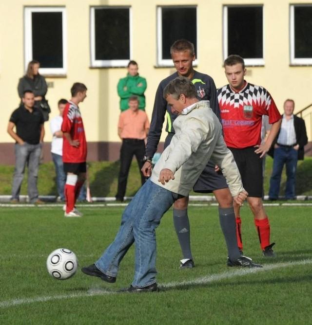 Andrzej Huszcza zaczął sezon