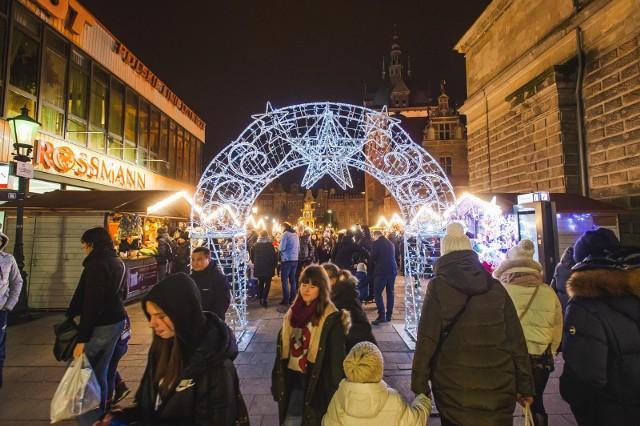 Jarmark Bożonarodzeniowy 2019 w Gdańsku