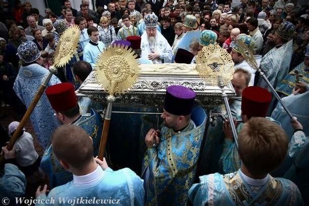 Procesja z relikwiami Męczennika Gabriela