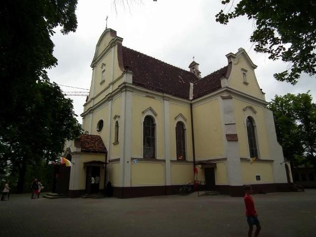 Kościół przy ulicy Mariackiej w Poznaniu