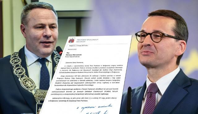 Czy premier Morawiecki odpowie na zaproszenie i zasiądzie  do rozmów z prezydentem Bruskim?