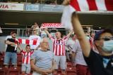Cracovia - Pogoń. Kibice na meczu. Mieli powody do radości! [ZDJĘCIA]
