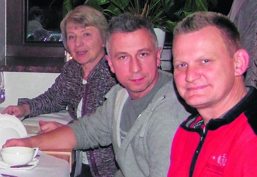 Jadwiga Korb, Adam Pawlikowski i Krzysztof Gajda - współautorzy kroniki