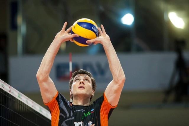Doświadczony rozgrywający Lukas Kampa to jeden z nowych siatkarzy Trefla Gdańsk