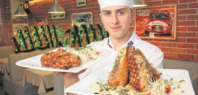 - Etiudę Siudmaka i comber wieprzowy można zaserwować jako główne świąteczne dania - mówi Paweł Ptaś.