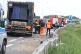 Wypadek na trasie S8 Warszawa - Wrocław. Droga zablokowana