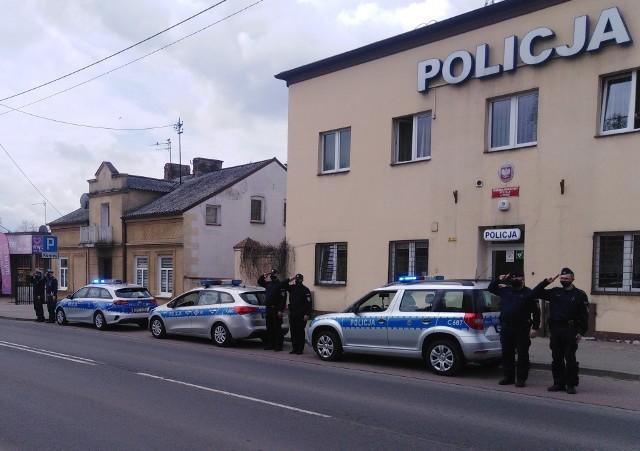 Policjanci z Rypina upamiętnili zmarłego kolegę z Raciborza