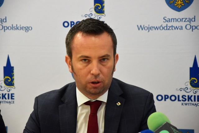 Rafał Bartek, przewodniczący sejmiku