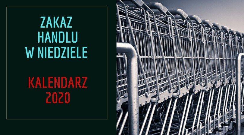 Niedziele handlowe 2020. Są zmiany! Kiedy sklepy będą otwarte w niedzielę? Kalendarz niedziel niehandlowych [27.12.2019] | Dziennik Bałtycki