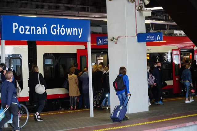 Od grudnia szybciej pojedziemy pociągiem na trasie z Poznania do Piły i Wrocławia. Z kolei w przyszłym roku PKP chcą ogłosić przetarg na przebudowę towarowej obwodnicy Poznania.