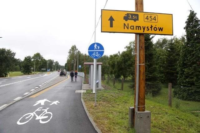 Droga wojewódzka 454 w Ładzy już otwarta.