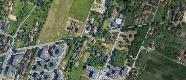 Rejon ul. Dożynkowej w Lublinie