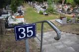 Mieszkaniec prosi o budowę utwardzonej ścieżki na jednej z kwater starego cmentarza w Zielonej Górze. Czy nadal będą chodzić po błocie?